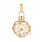 Pendant Engelsrufer gold with zirconia