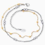 Anklet Moonlight Twin Bicolor