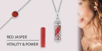 Zodiac sign Scorpio & the matching power stone red jasper