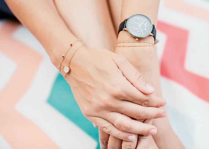 A watch as a perfect summer accessory