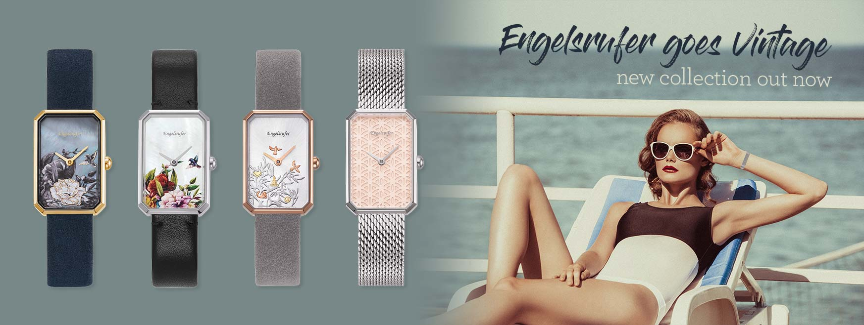 We love Vintage - Our new watches